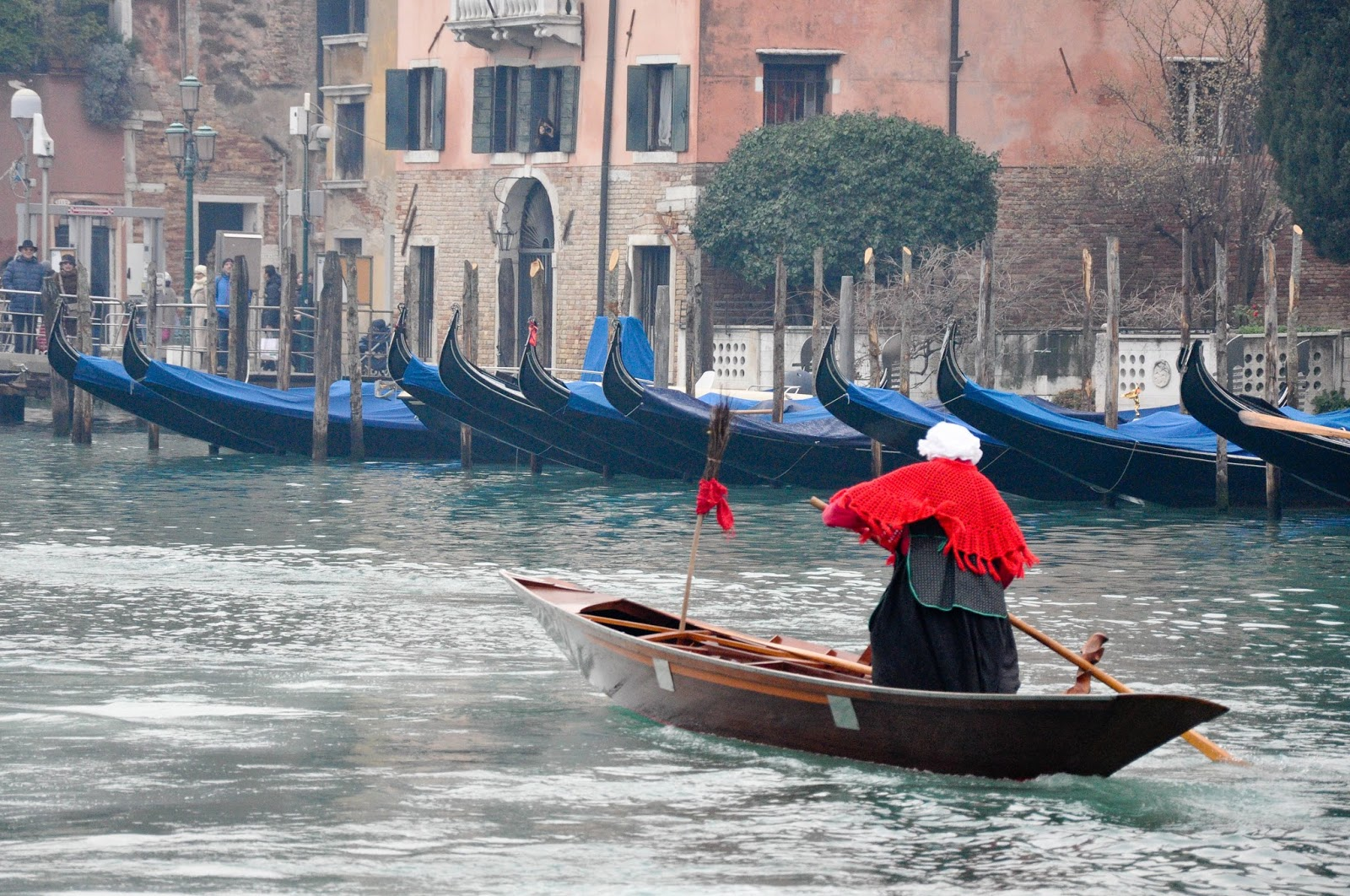 Red Befana, Befana race, Venice, Italy