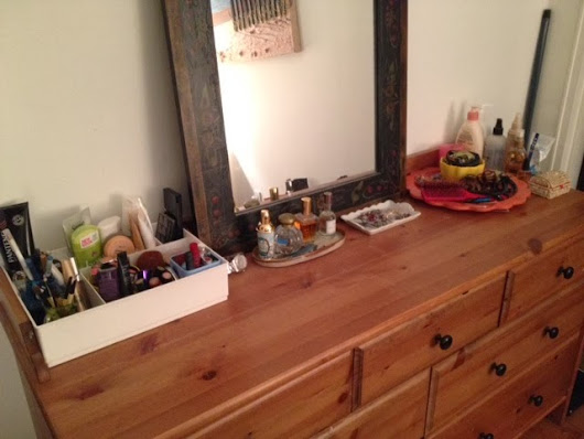 Part one of Organizing project: Dresser