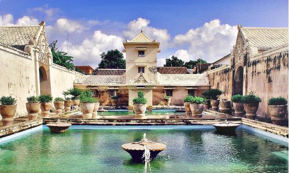 wisata tamansari spot foto Jogja