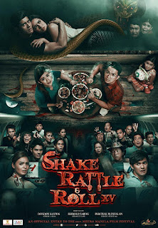 Shake, Rattle & Roll XV is a 2014 Filipino horror anthology film directed by Dondon Santos, Jerrold Tarog, and Perci Intalan.