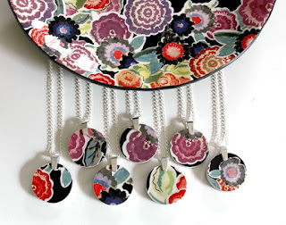 heirloom china turned into jewelry