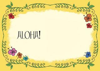 Imagens E Molduras Para Festa Do Hawaii