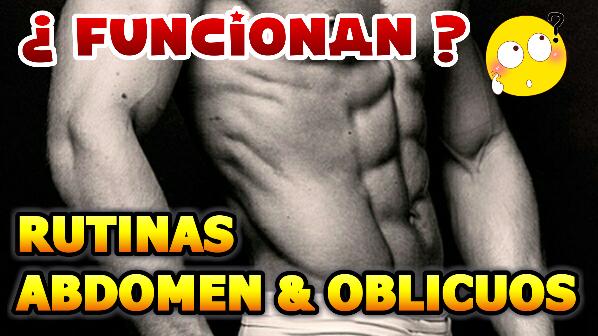 Rutinas de abdomen y oblicuos, ¿funcionan? | Bruno Requena - Fitness ...