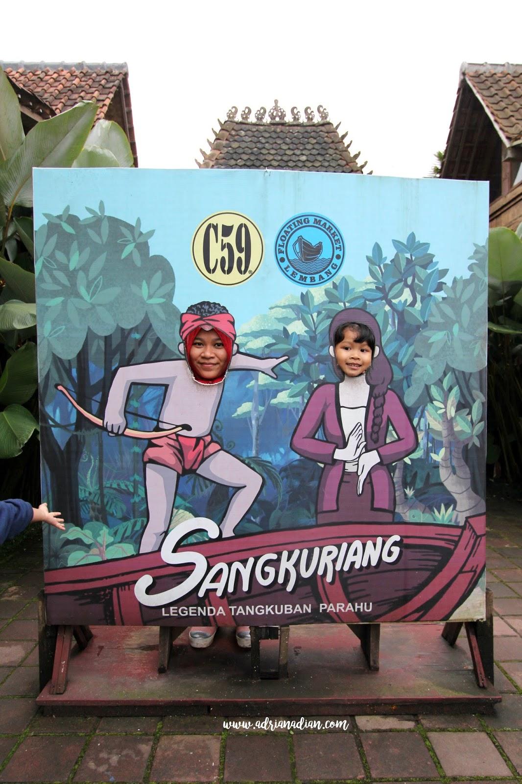 Menghabiskan Senja Di Floating Market Lembang Adriana Dians Blog