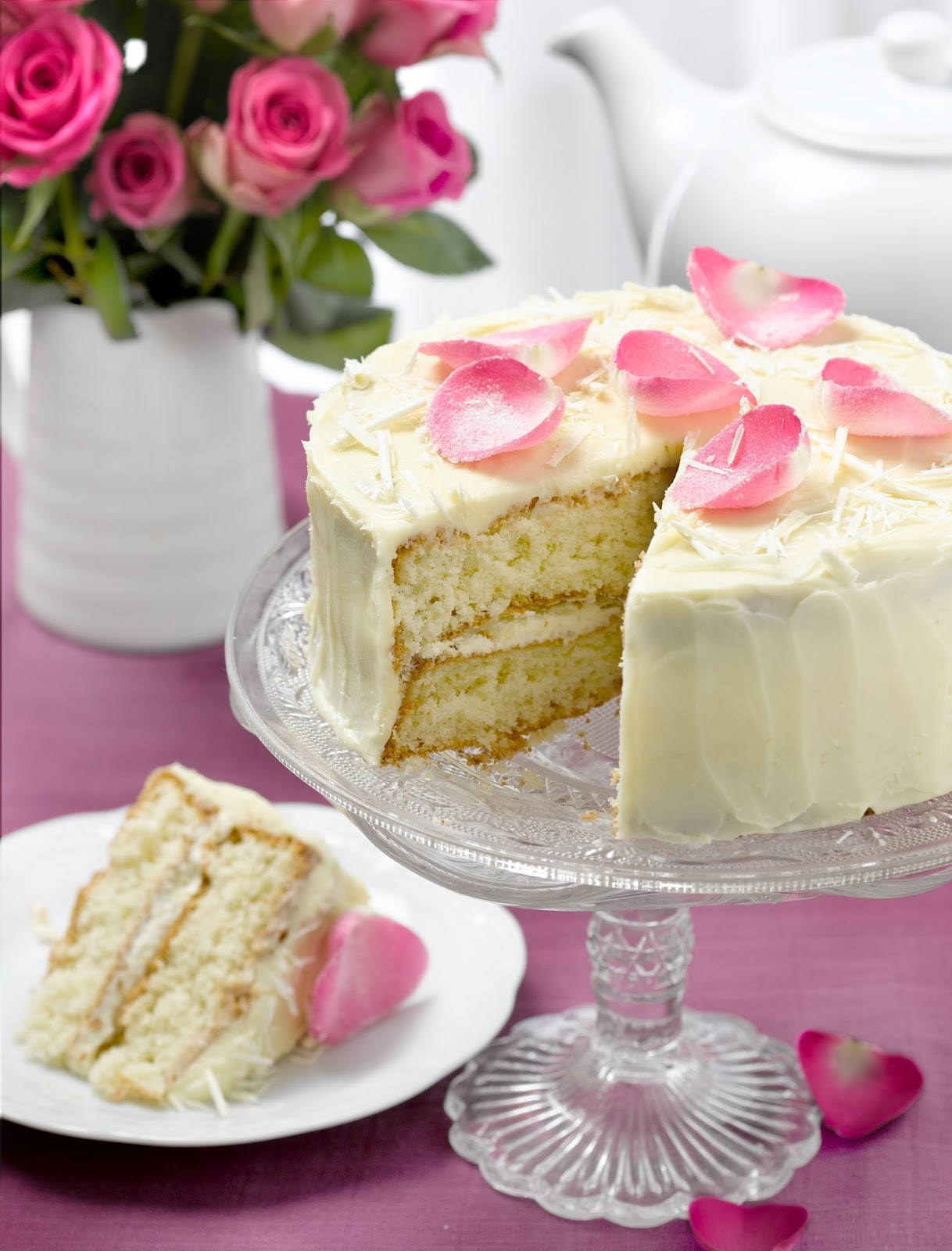 White Chocolate Gateau: White Chocolate Day