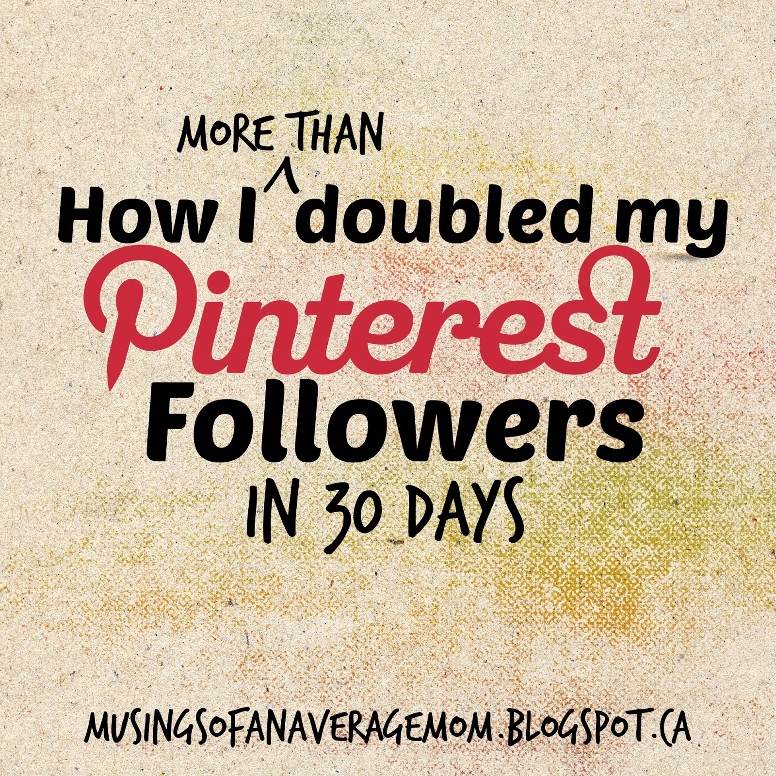 double Pinterest Follwers