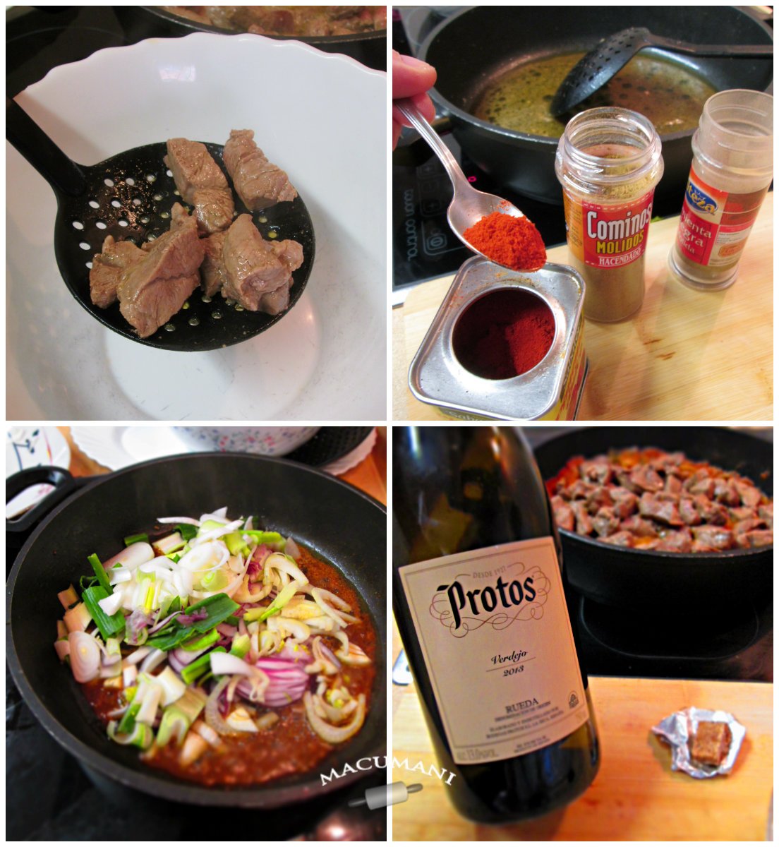 como hacer ternera con salsa paso a paso