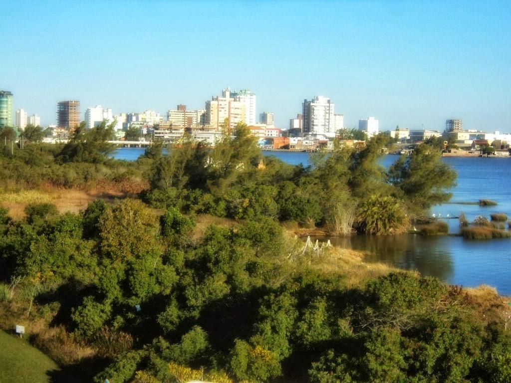 A Cidade de Tramandaí Vista do CECLIMAR