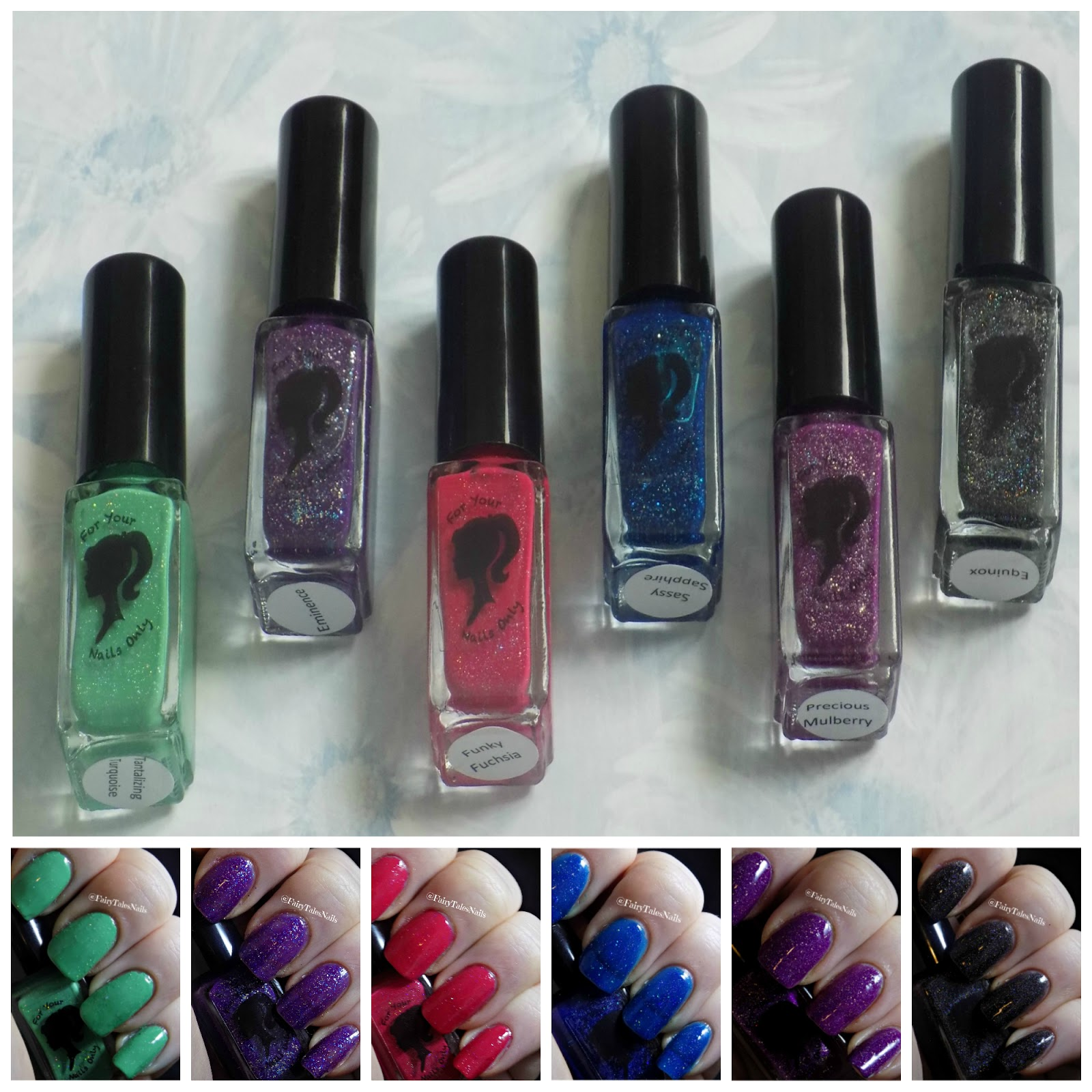 FairyTales Nails: For Your Nails Only Enchanted Holo Collection ...
