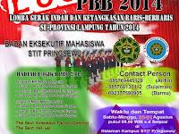 Design Brosur Lomba Gerak Indah dan Baris-berbaris Se-Provinsi Lampung
