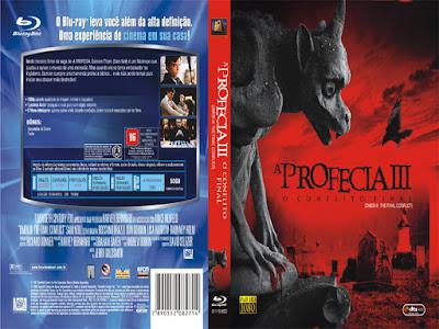 Filme A Profecia 3 - O Conflito Final DVD Capa