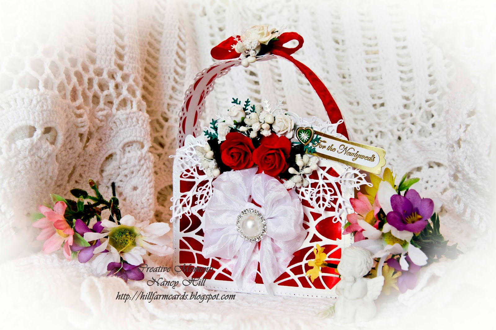 Really Reasonable Ribbon Blog Wedding Gift Purse Bag