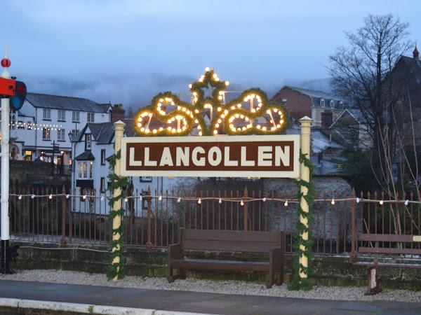 Santa Special at Llangollen Railway