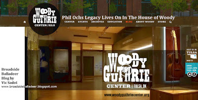 Phil Ochs Legacy Lives On In The House of Woody