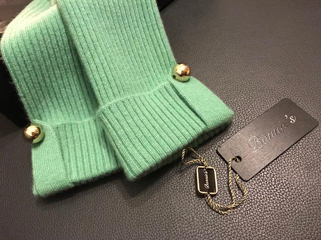 >>100% eco-cashmere 奢華呵護*Bonnie's Arm Warmers 手套系列