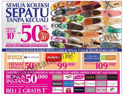Matahari Promo Weekend 11 - 13 September 2015