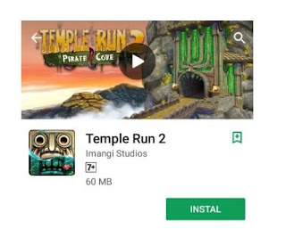 Temple Run 2 endless running