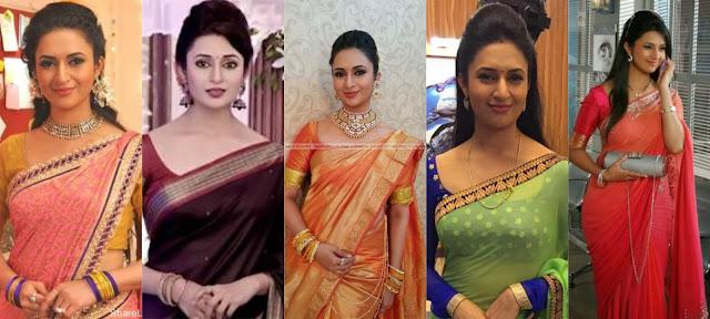 Divyanka Tripathi sarees
