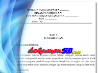 Download Contoh Proposal PPUS 2 SD Format Word 2017