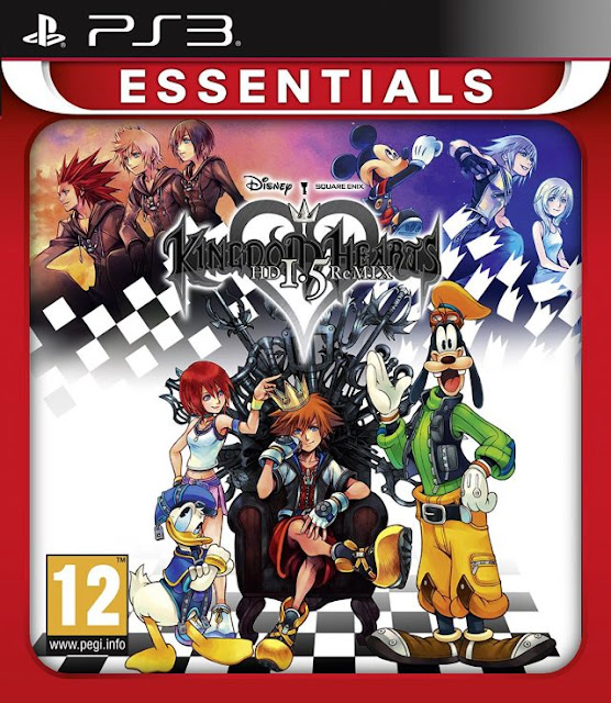 Kingdom Hearts HD 1 5 Remix ps3 iso rom download | Roms Empire