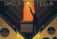 Nikola Tesla Poster Illustration