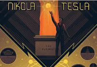 Nikola Tesla Poster Illustration