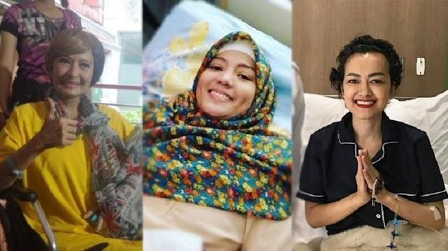 Waspadailah Gejalanya Sejak Dini !Usai Renita Sukardi dan Yana Zein, Kini Jupe ! 3 Artis yang Meninggal karena Kanker!!