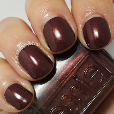 Essie Winter 2016 - Ready to Boa | Kat Stays Polished