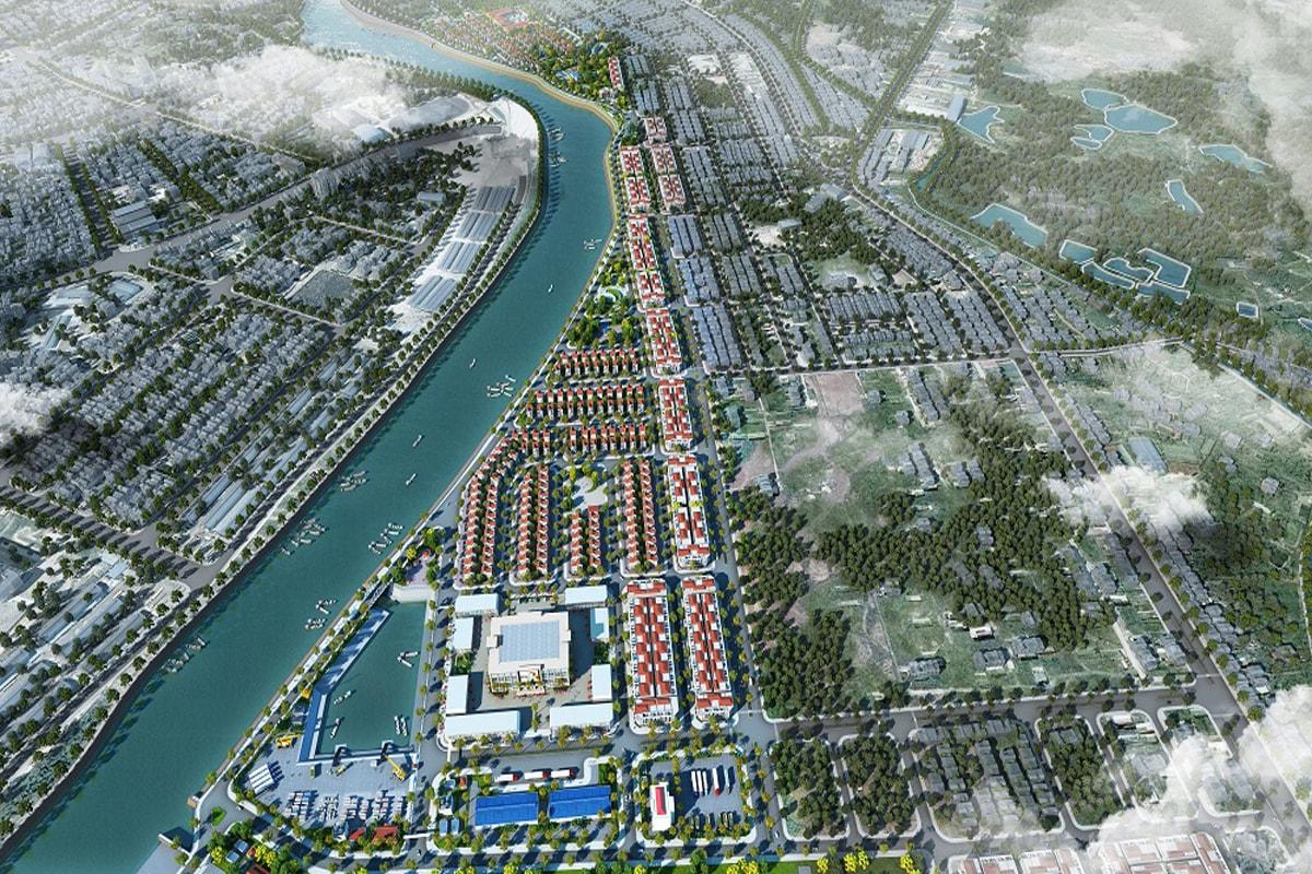 Phối cảnh tổng thể dự án Kalong Riverside City