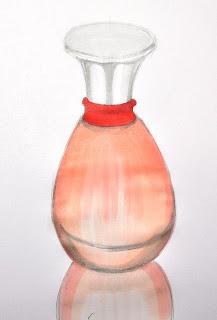 虛線的教學: 虛線老師示範~香水瓶2