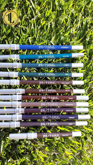 Urban Decay 24/7 Glide-On Eye Pencils www.modenmakeup.com