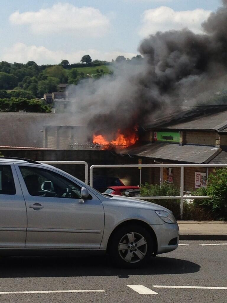Grahams Fire Page Breaking News Mirfield Co Op Blaze