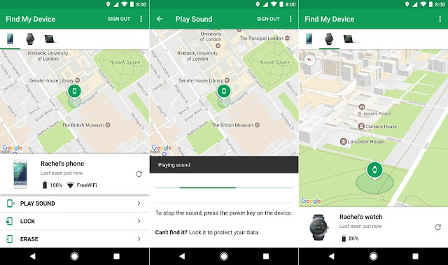 "How to Track Missing Android Phones with "" Find My Device """