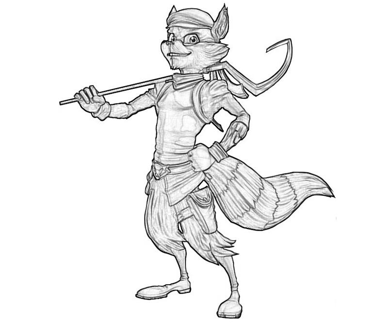 Sly Cooper Thieves in Time Sly