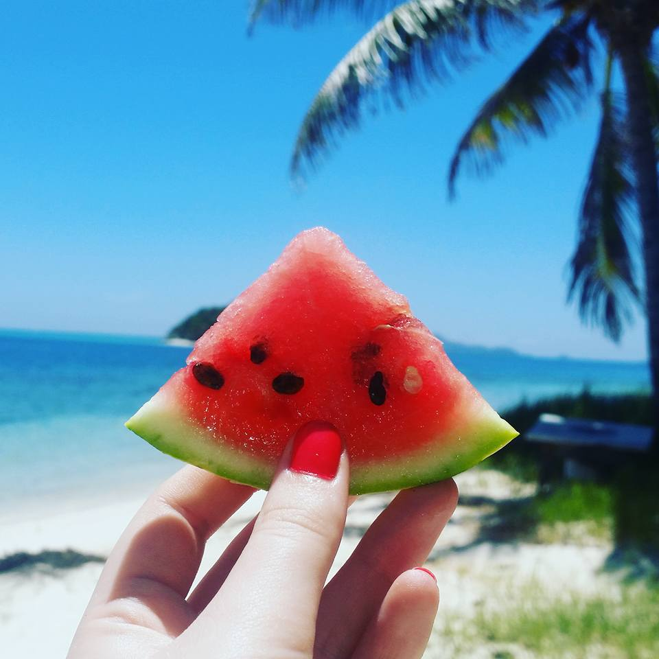 Watermelon in the Caribbean