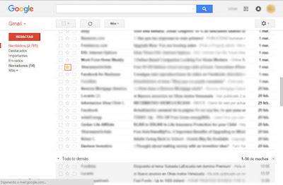 que es la bandeja de destacados de gmail