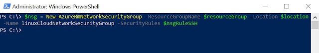 Configure NSG group
