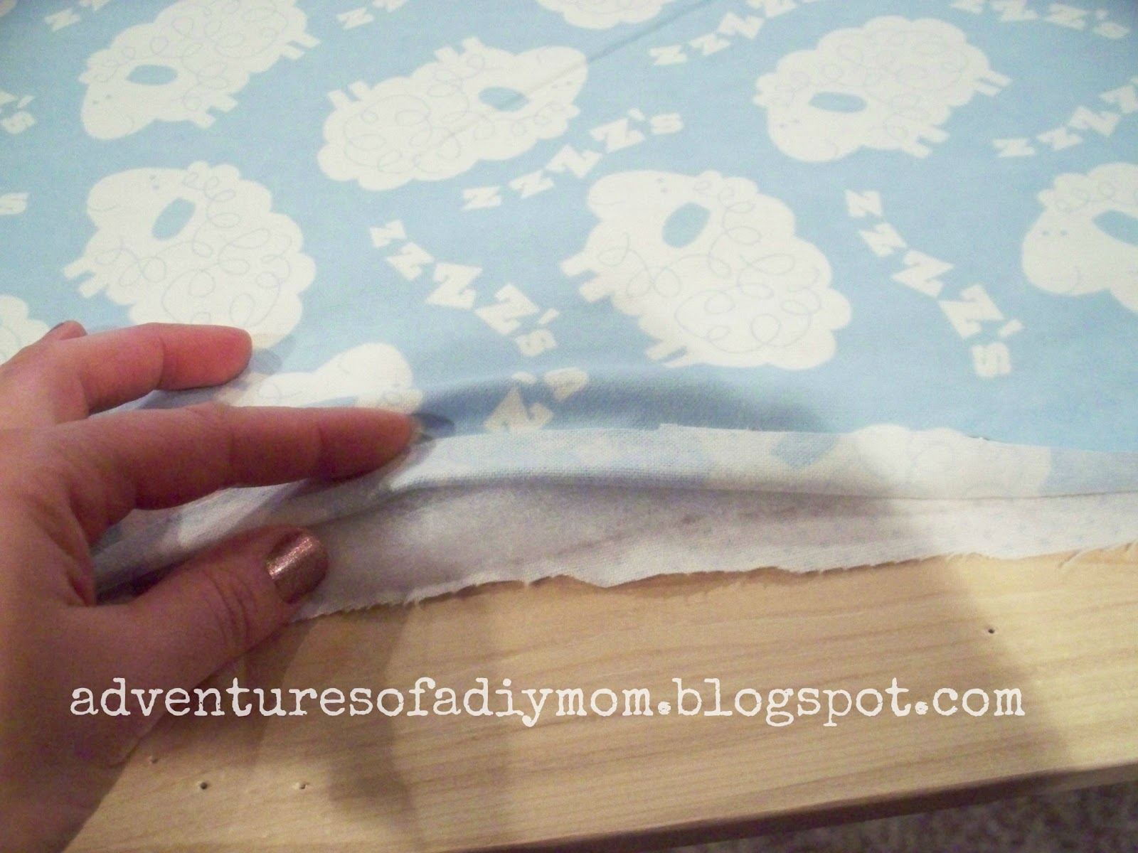 How to Bind a Blanket - Adventures of a DIY Mom