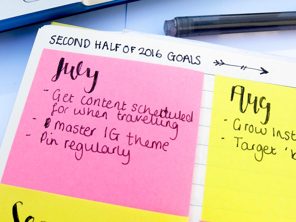 How I Use My Bullet Journal For Blogging | www.hannahemilylane.com