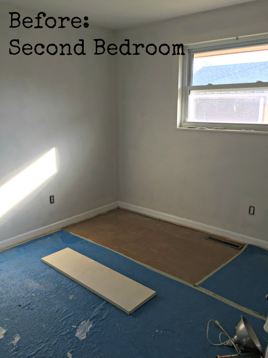 Second bedroom before