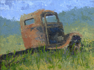 truck painting ford abandoned rust rusty abstract