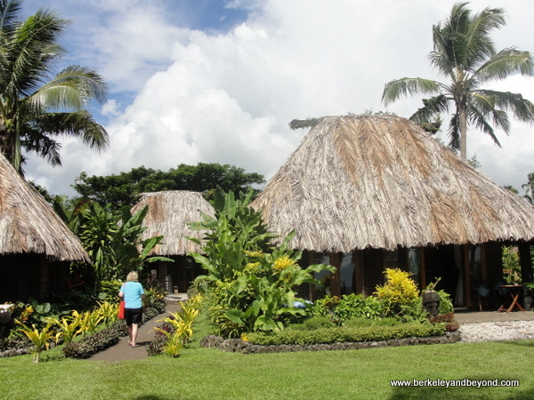 bures at Paradise Taveuni in Fiji