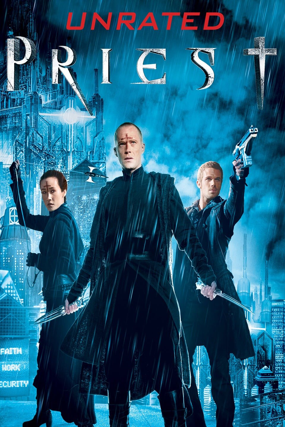 Priest 2011 Dual Audio Hindi 300MB BluRay 480p x264 ESubs Download