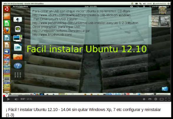 Fácil  instalar Ubuntu