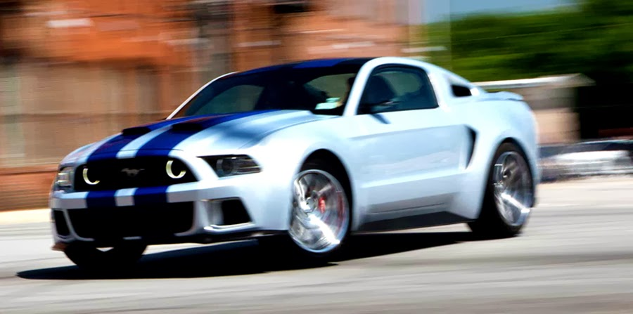 Una din vedetele filmului Need For Speed: Ford Mustang