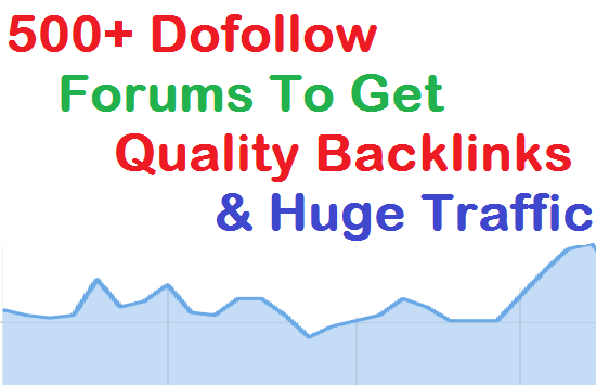 Get Download 500+ Do Follow Forum with PR for Signature Backlinks ~ How To Submit URL