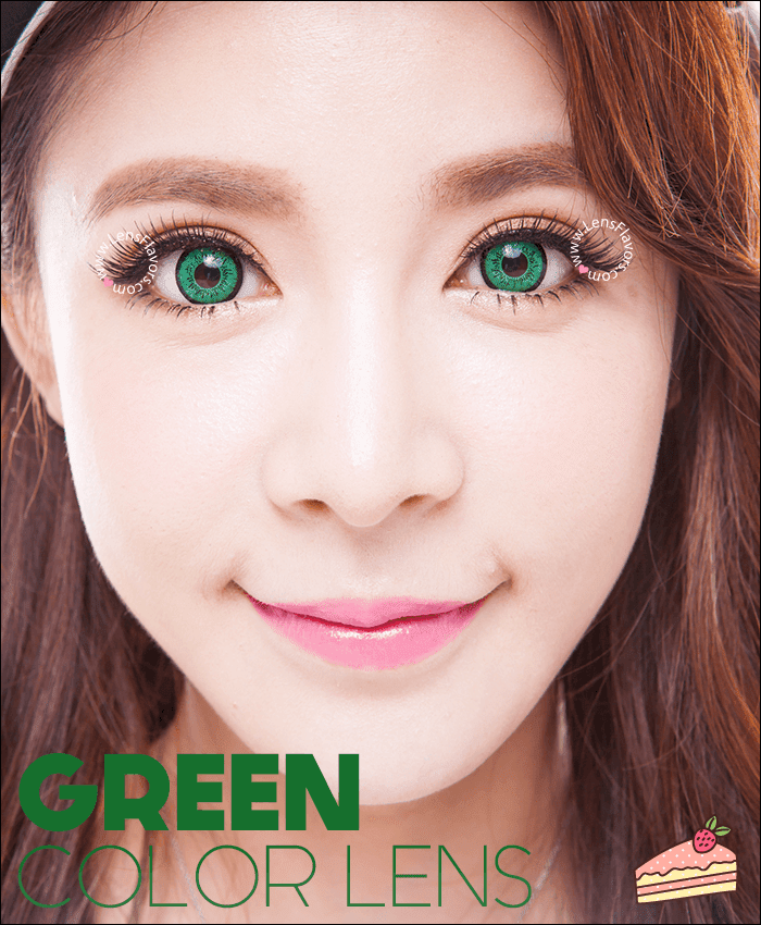 eos dolly eye green colored contacts