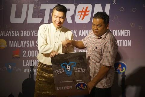 ULTRON MALAYSIA LANCAR PROJEK TEE4TEEN BERSAMA YAYASAN GENERASI MALAYSIA