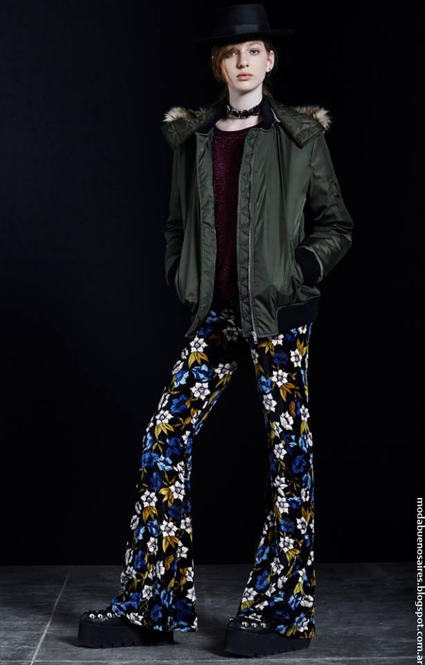 Camperas, pantalones, sweaters invierno 2016 Complot. Moda mujer otoño invierno 2016.