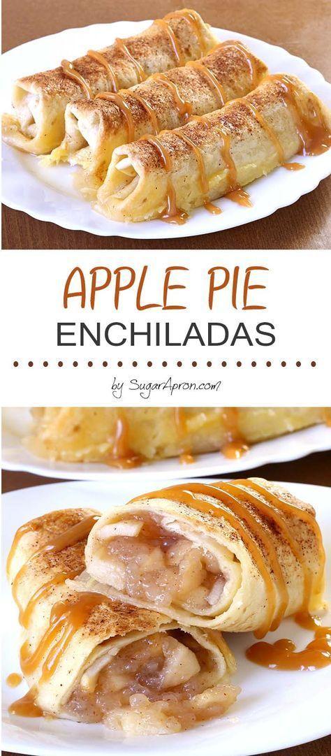 Apple Pie Enchiladas Healthy And Delicious